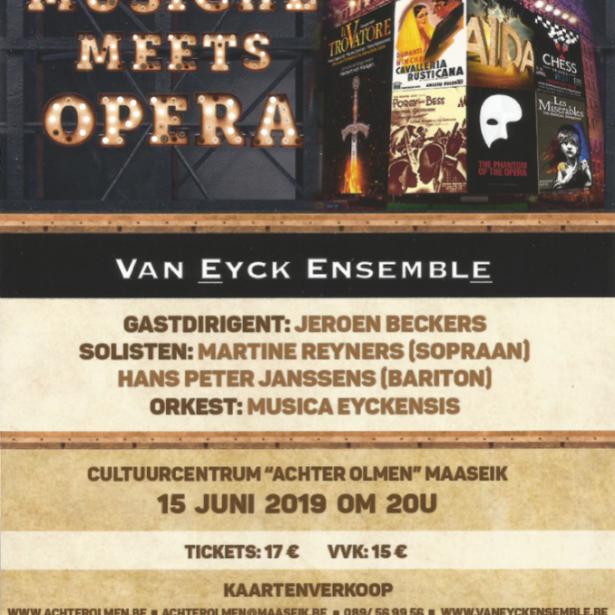 Afbeelding Musical meets opera