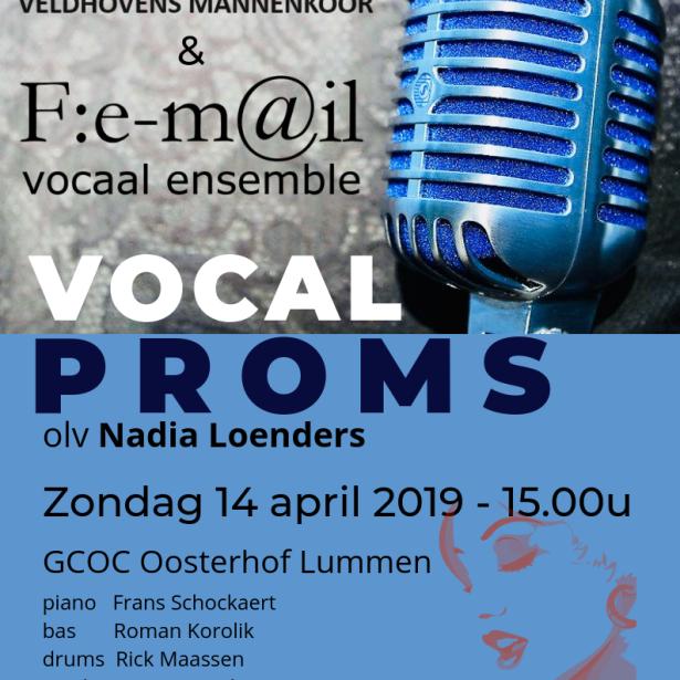 Afbeelding Vocal Proms