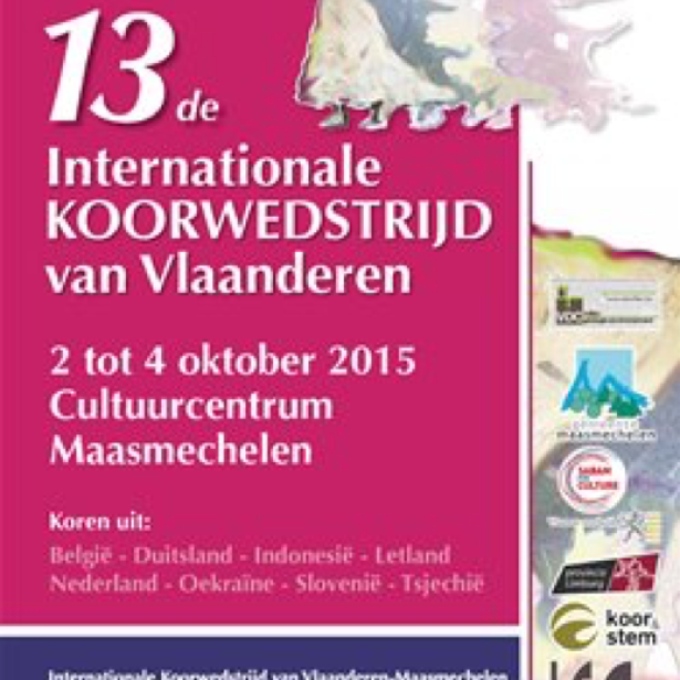 Afbeelding Internationale koorwedstrijd van Vlaanderen