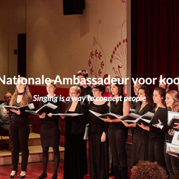 Afbeelding Team Belgium voor koorzang op 28 april voor het eerst in Hasselt