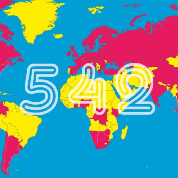 Afbeelding 542 koren uit 69 landen komen naar Vlaanderen