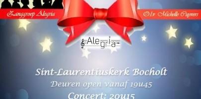 Kerstconcert Alegria Bocholt