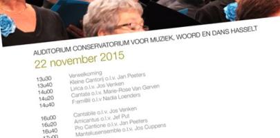 Provinciale koorwedstrijd