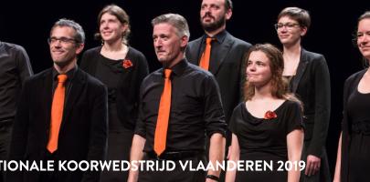 Verlenging inschrijving Internationale Koorwedstrijd Vlaanderen