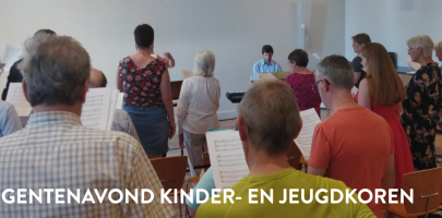 Dirigentenavond kinder- en jeugdkoren